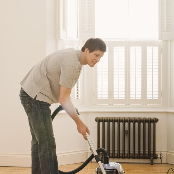 Housework, like vacuuming, counts as moderate activity.