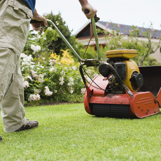 Lawncare service providers commonly receive unearned revenue.