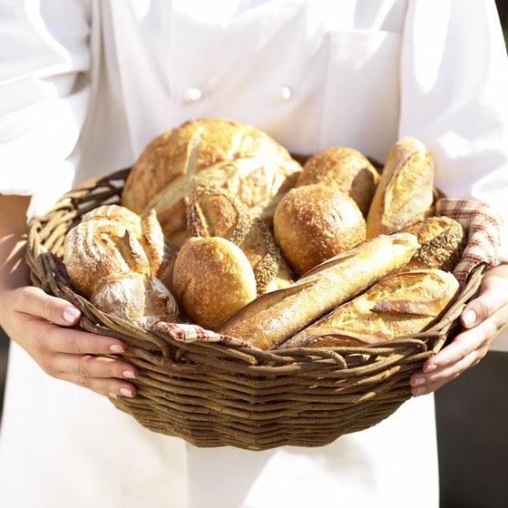French bread offers vitamins and minerals, including selenium.