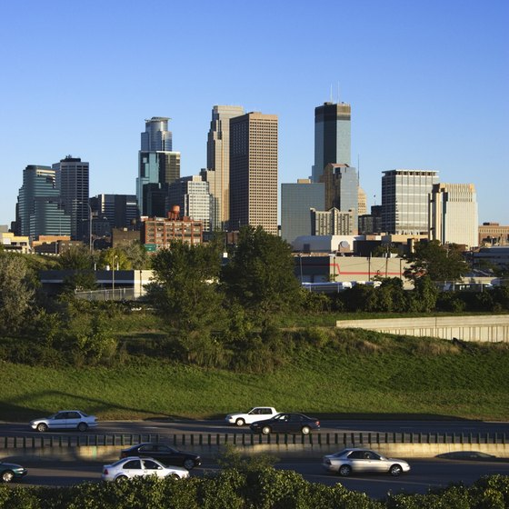 MSP is within 10 miles of Minneapolis' downtown area.