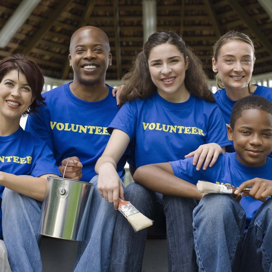 Corporate volunteer programs enable employees to get involved in exchange for time off.