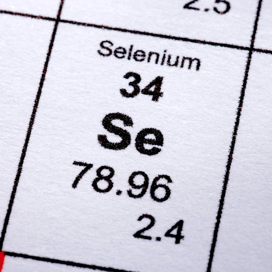 The amount of selenium in the food is influenced by where that food is grown.