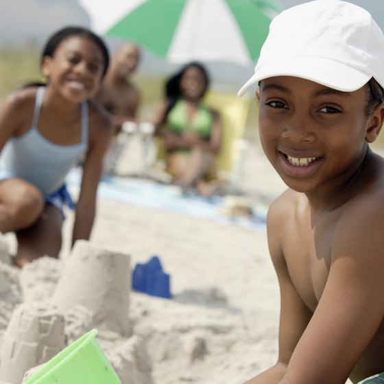 Saline area beaches offer family-friendly recreation.