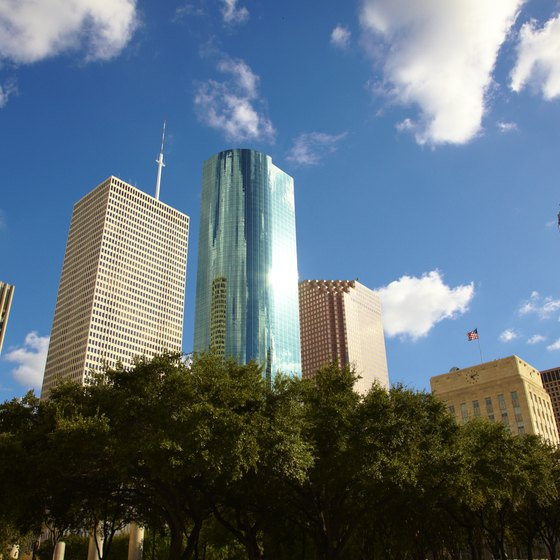 Escape from downtown Houston to explore the city's softer, romantic side.