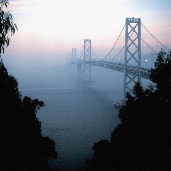 The San Francisco-Oakland Bay Bridge, an important Bay Area connector.
