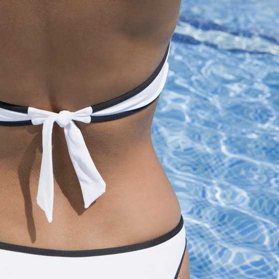 Be bikini confident with a sleek, toned back.