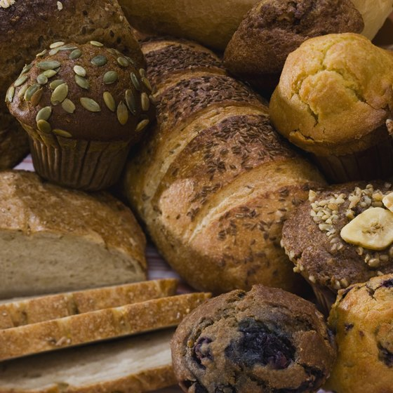 Banana nut muffins boost your intake of manganese and vitamin A.