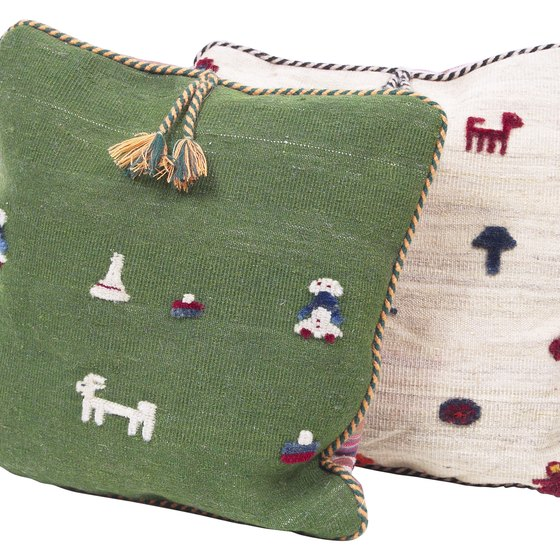Market handmade items such as embroidered cushions at craft fairs and trade shows.