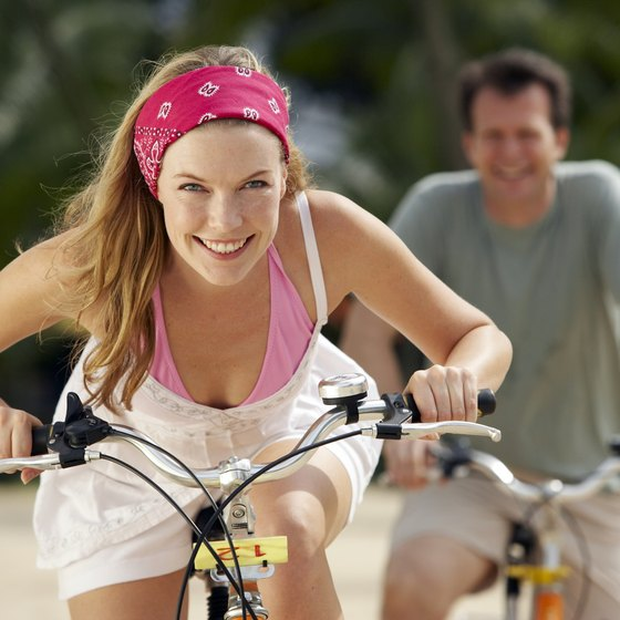 Cycling with a partner increases motivation.