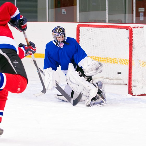 Whether you're scoring goals or preventing them, you need to be in good physical shape to play hockey.