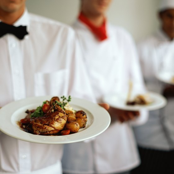 Catering companies can used fixed pricing or tiered pricing to determine engagement prices.