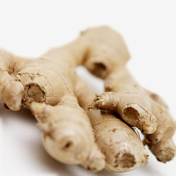 Peel and grate fresh ginger into stir-fry to add a burst of flavor and to aid in digestion.