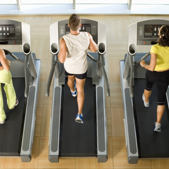 Treadmill walking burns more calories when the treadmill is inclined.