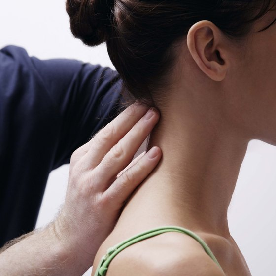 Use isometric stretches to shape up your neck.