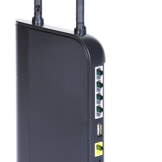 Some extenders include ports that connect wired devices to the wireless network.