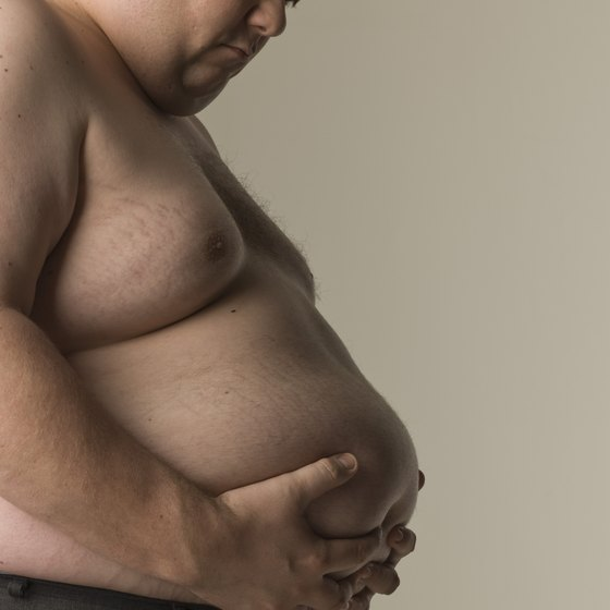Belly fat can lead to health complications.