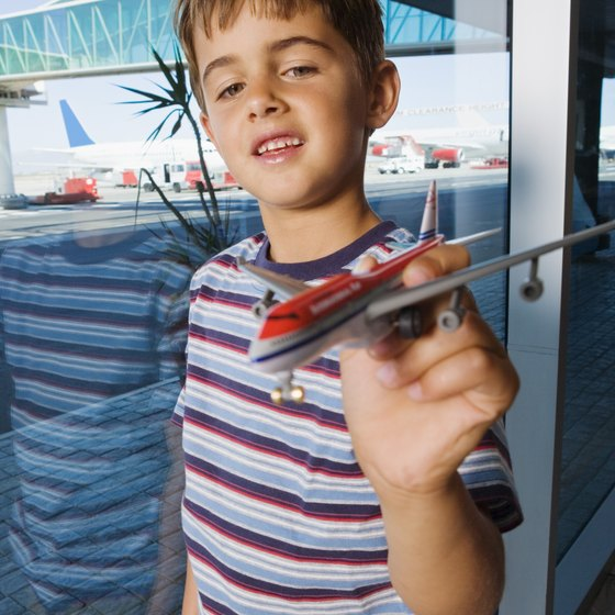 Children flying alone may need to check in earlier than normal.