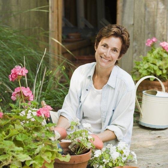 Athletic hobbies such as gardening provide a number of physical and mental benefits for the middle-aged.