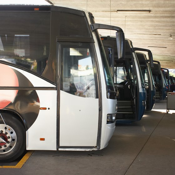 A private bus tour allows friends, family or employees to chat while they travel.