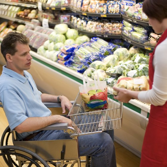 Nutritious food choices are important for disabled individuals trying to lose weight.