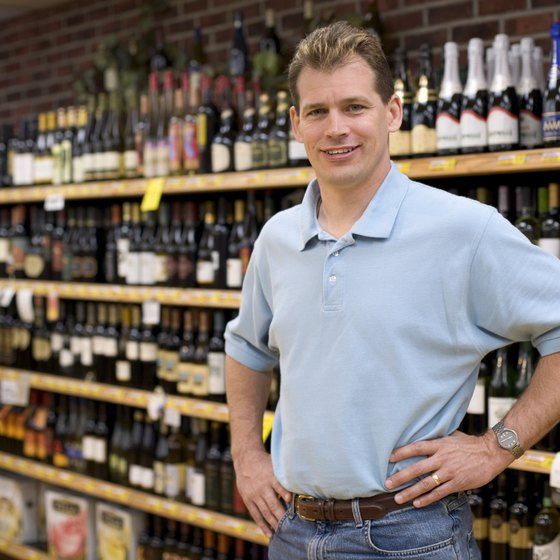Owning a liquor store is a hands-on business.