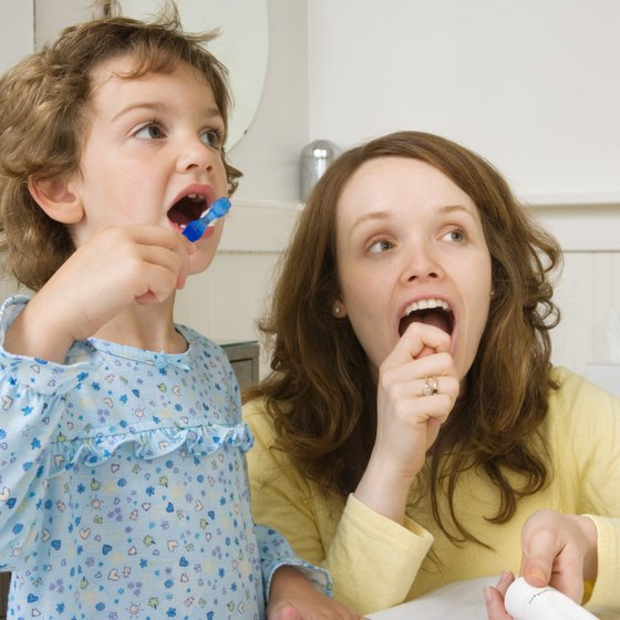 Tongue cleaning should be part of a child's daily oral hygiene.