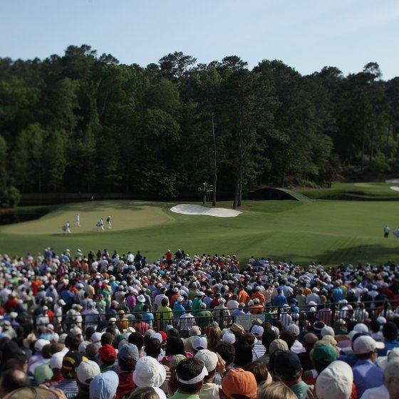 The Masters Tournament is played annually at the Augusta National Golf Club.