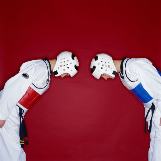 Respect is an important principle in taekwondo.