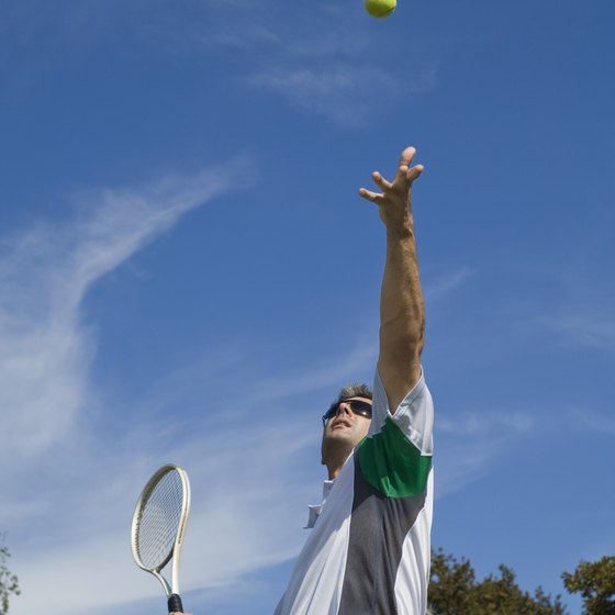 Tennis is a high-impact sport that can help you lose weight.