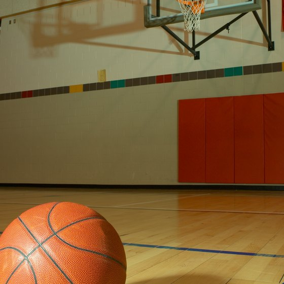 Play a variety of games with a basketball.