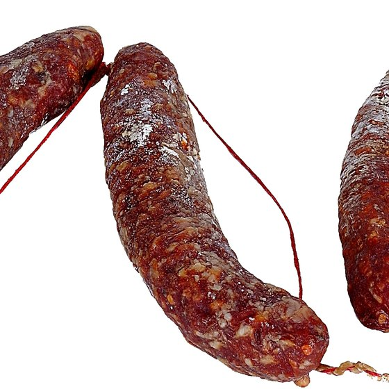 Eat chorizo as a source of beneficial vitamin B-12 and selenium.