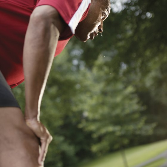 Tired legs can feel heavy and cramp up.