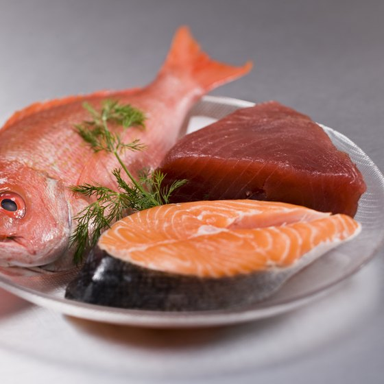 Fish is an excellent source of lysine.