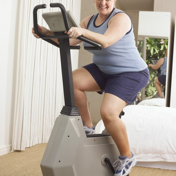 Cardio exercise will help you lose weight while working your butt muscles.