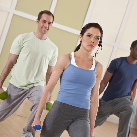 Exercise classes at the gym can add variety to your workout routine.