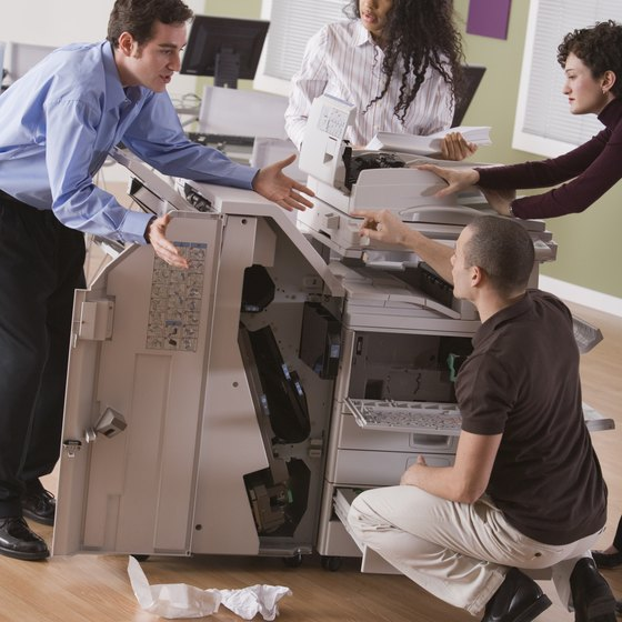 Leasing a copier means you don't have to be a technician, too.