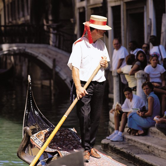 Gondola rides are one of Venice's most-popular tourist activities.