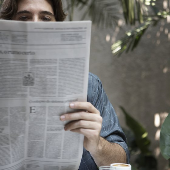 Newspaper advertising is reaching a decreasing number of readers.