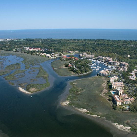 Hilton Head Island, South Carolina, has several boutique inns and oceanfront resorts.