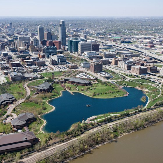 Omaha, population 415,000, sits on the vast Midwestern plains.