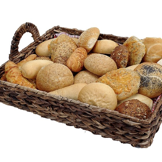 Most types of bread are rich in gluten.