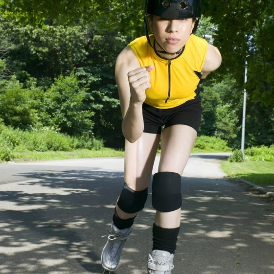 Rollerblading can improve cardiovascular health.