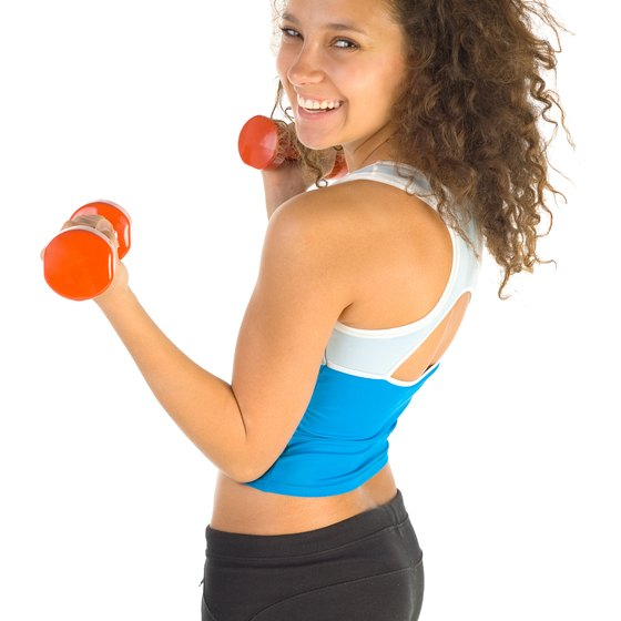 The combination of weights and cardio will help you tone up fast.