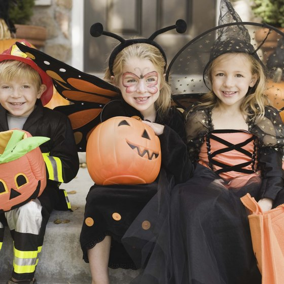 Kids go trick-or-treating through a historic village at this fall fest.