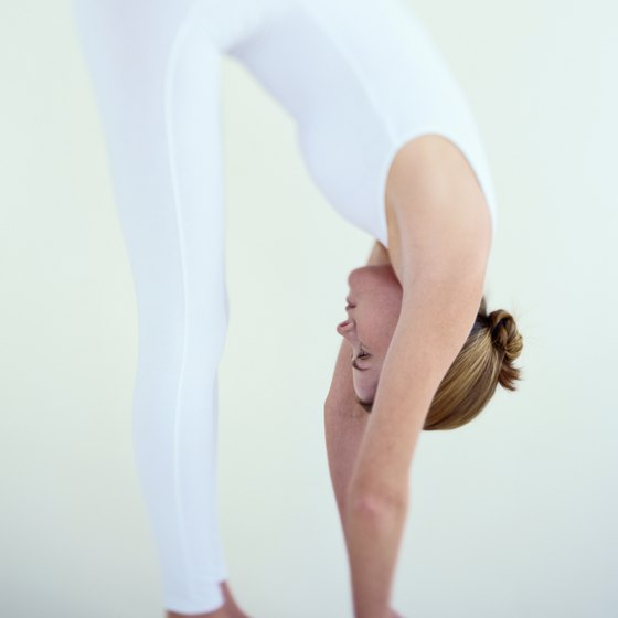 Performing specific stretches can help elongate your back and neck.
