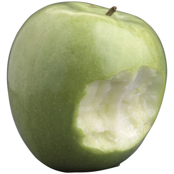 Granny Smith apples are a crunchy treat.
