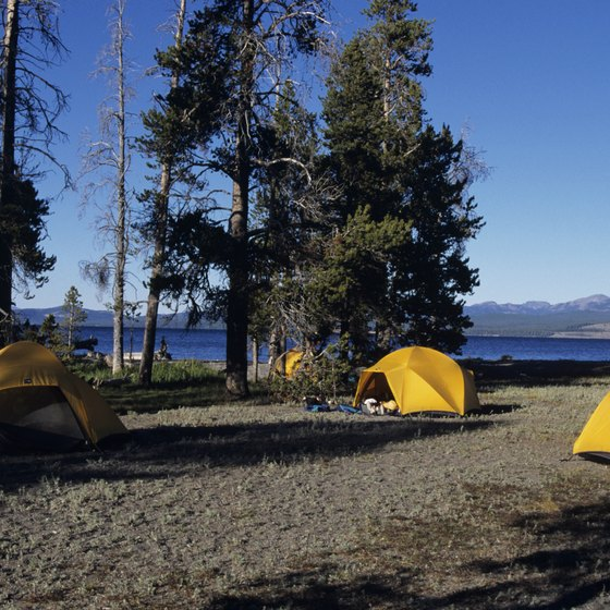 You'll find several beaches in Orange County where you can pitch a tent.
