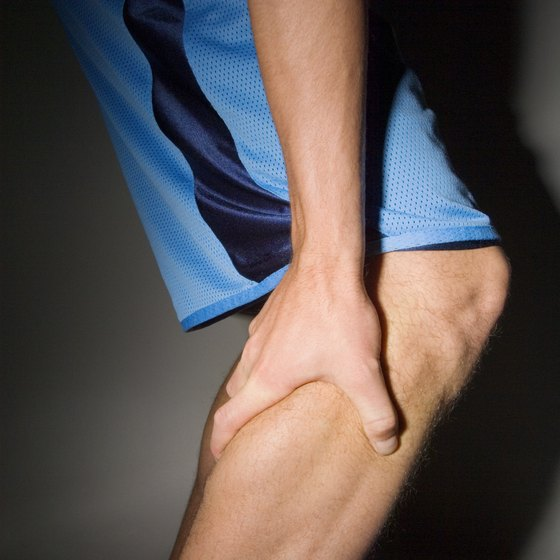 Low sodium levels can cause muscle cramps.
