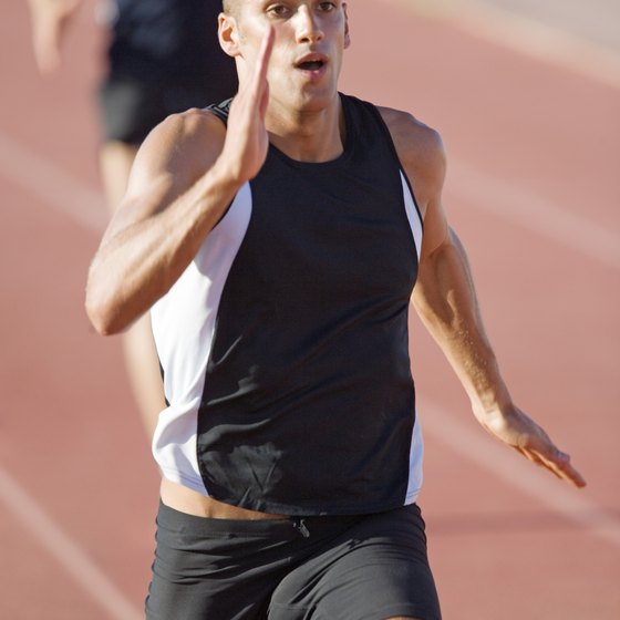 Sprinters can increase explosive speed with anaerobic training.