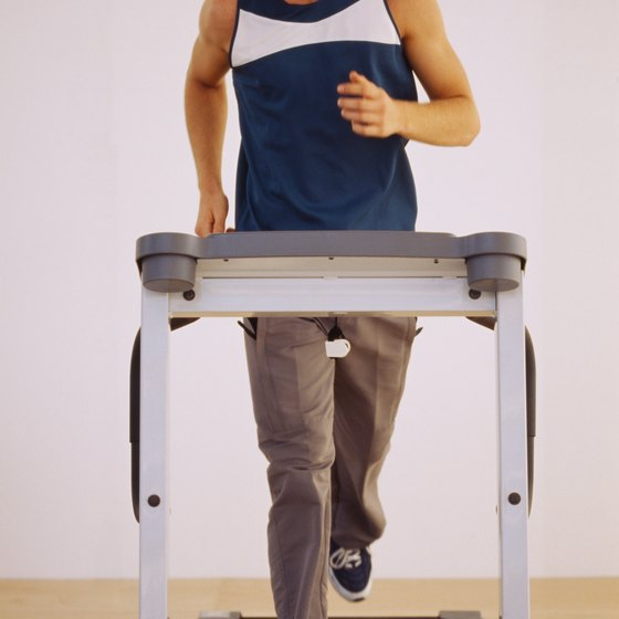 A treadmill could help you fulfill your cardio requirements.